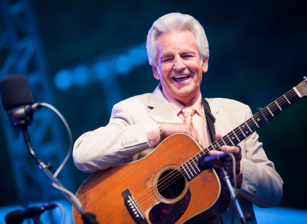 Del McCoury at Delfest 2012.