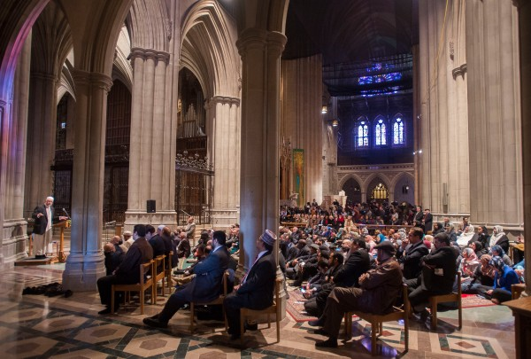 Mulsim Prayer Service at Washington Cathedral